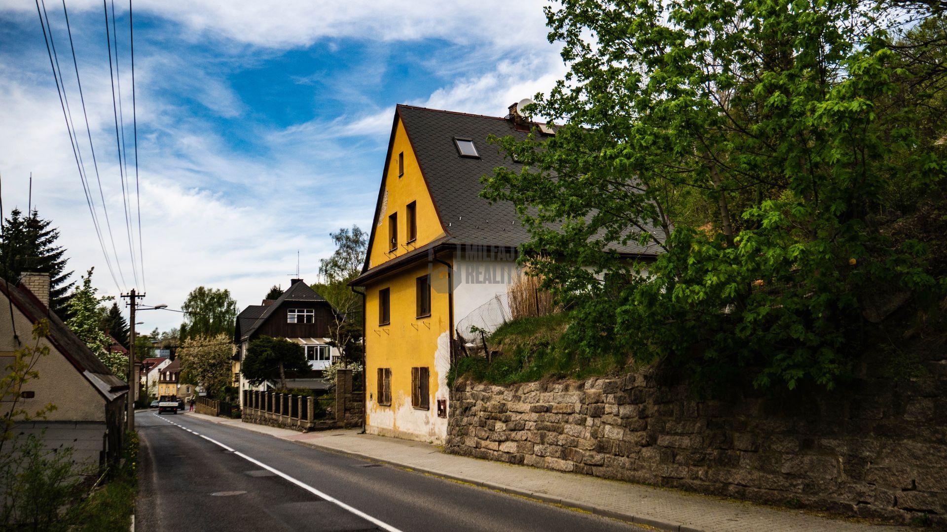 REZERVOVÁNO - Prodej rodinného domu, Starý Harcov, Liberec
